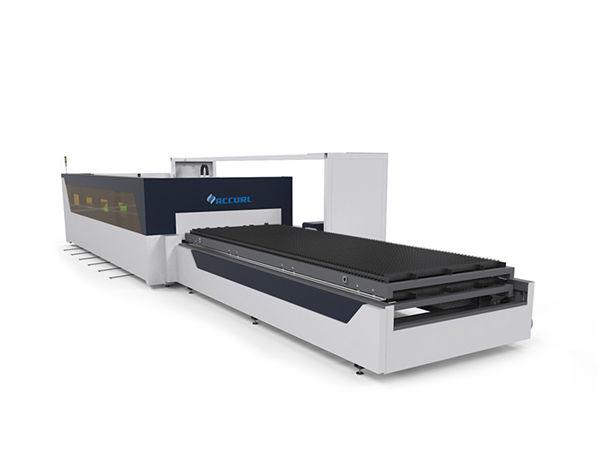 4 ملليمتر أنابيب الكربون الصلب أنبوب ورقة cnc الألياف آلة القطع بالليزر مع raytools
