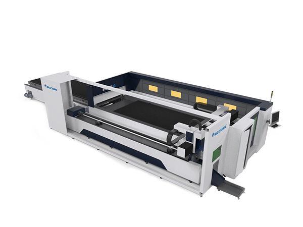 شفرة الجدول cnc آلة القطع بالليزر الصناعية مستقرة تشغيل صيانة منخفضة