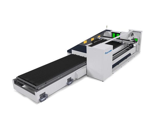 6000mm أنبوب معدني آلة القطع بالليزر التركيز التلقائي عالية الدقة