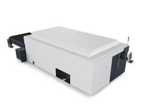 الصفائح المعدنية / أنابيب الصناعية آلة القطع بالليزر محرك مزدوج الراقية نظام cnc