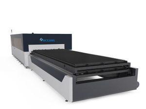لوحة / أنبوب الألياف المعدنية آلة القطع بالليزر 1000 واط الولايات المتحدة الأمريكية lasermech قطع الرأس
