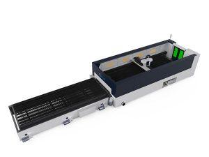 عالية الدقة الألياف المعدنية آلة القطع بالليزر 500 واط raycools قطع الرأس
