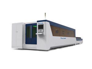 آلة قطع ألياف الليزر 500-6000 واط مع تسارع عالية تصل 2.5 جرام