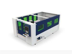 مصغرة 500W الألياف آلة القطع بالليزر لأنبوب مغلق ورقة