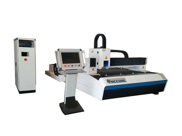 700w / 1000w الفولاذ المقاوم للصدأ الألياف الليزر آلة قطع