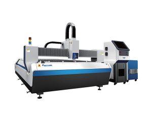 الطاقة المتوسطة الفولاذ المقاوم للصدأ آلة القطع بالليزر ، 1500W ورقة الليزر آلة قطع