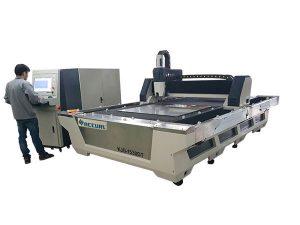 كامل التصنيع باستخدام الحاسب الآلي المغلقة الألياف الليزر آلة قطع 1000W 1080nm الليزر