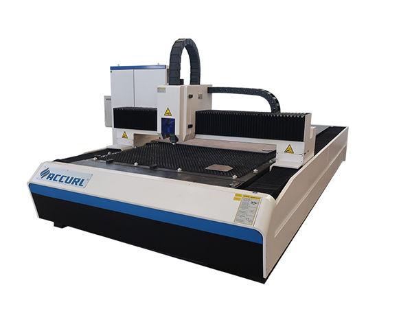 2000w الألياف آلة القطع بالليزر المستخدمة في لوحة الفولاذ الطري / لوحة الحديد