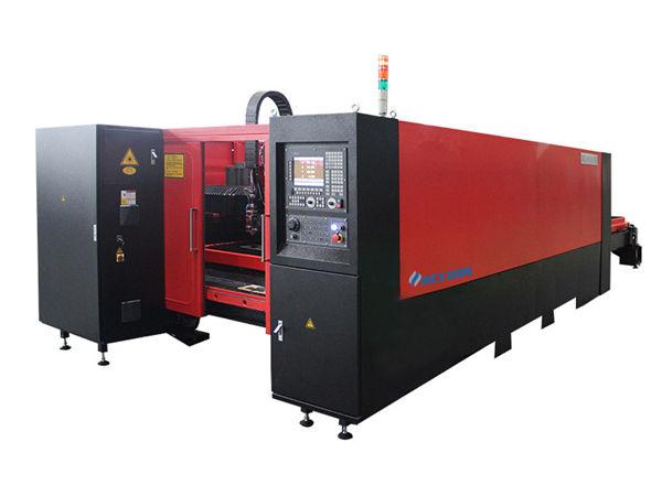 1000W الصناعية آلة القطع بالليزر منخفضة الضوضاء عالية الدقة لقطع الكربون الصلب