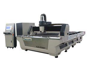 عالية الدقة الصناعية آلة القطع بالليزر 1000W لقطع الكربون الصلب