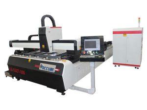 1000w 1500w آلة القطع المعدنية بالليزر للصلب الطري ، 45m / min سرعة القطع