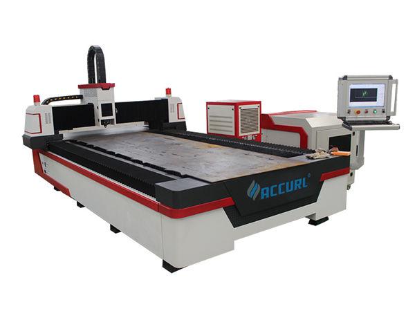 مسار الألياف البصرية آلة القطع بالليزر الصناعية المدمجة مع نظام التعشيش التلقائي