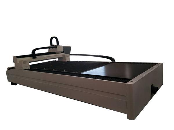 لوحة / أنبوب الألياف المعدنية آلة القطع بالليزر طاولة واحدة العمل