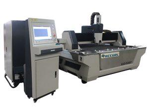 التصنيع باستخدام الحاسب الآلي الألياف المعدنية آلة القطع بالليزر ارتفاع سرعة القطع للكربون الصلب