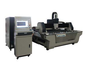 التصنيع باستخدام الحاسب الآلي الألياف الليزر آلة قطع الفولاذ المقاوم للصدأ ورقة القاطع مع جدول التبادل