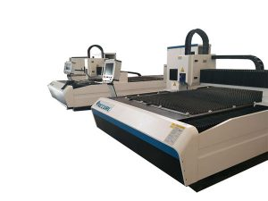 العمل المستمر الفولاذ المقاوم للصدأ المعادن آلة القطع بالليزر