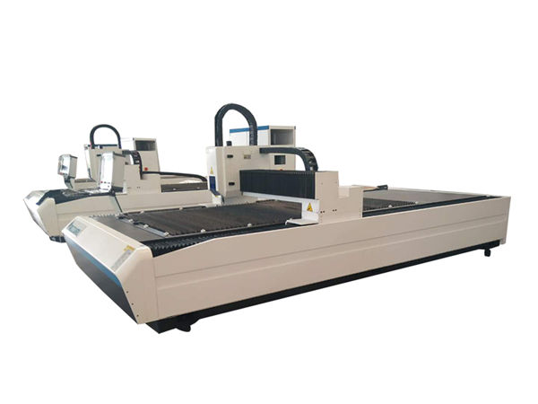 استخدام مزدوج أنبوب الليزر معدات القطع ، المهنية آلة قطع أنبوب الليزر cnc