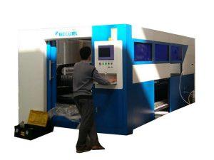 2kw الألياف البصرية آلة القطع بالليزر سرعة قابل للتعديل لأنبوب معدني