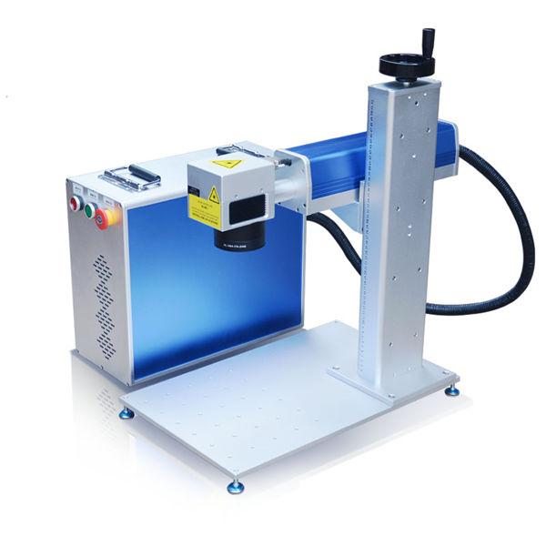 الألياف الليزر آلة الحفر 10 متر تصميم الجسم آلة